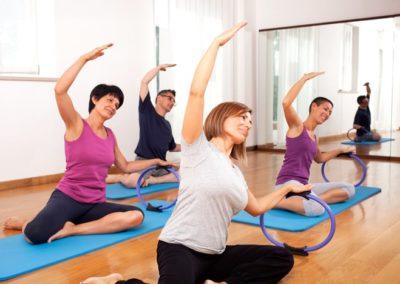 group-pilates-class